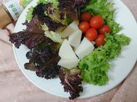 生菜筍沙拉