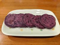 紫地瓜牛奶煎餅 (寶寶食譜)