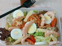 鮮蝦生菜沙拉