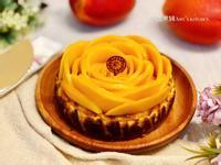 香芒巴斯克乳酪蛋糕