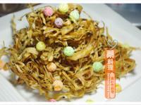[黃金玄米油Home炸料理]牛蒡酥