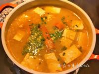 味噌鮮蝦豆腐湯