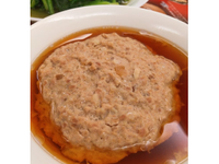 鹹瓜蒸肉餅