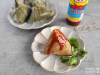 蛋黃栗子肉粽 (水煮粽)