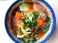 正港台灣味紅燒蕃茄牛肉麵