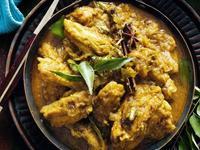印度乾咖哩雞