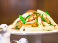 凉拌脆蘿蔔(喝粥吃面伴侶)