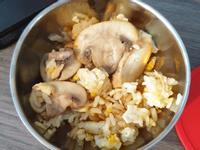 蘑菇蛋炒飯