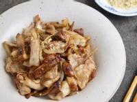 姬松茸洋蔥肉片