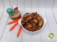 香烤蒜香紅槽嫩雞~簡單又美味!