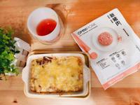 焗烤新豬肉紅醬櫛瓜麵
