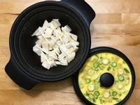 涼拌甜筍沙拉+蔬菜蒸蛋