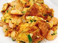醬香蝦仁蔥厚蛋