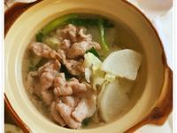 青蔥肉片湯 (露營OK)