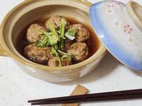 新豬肉醬燒瓜仔肉丸子(五辛素不含蛋奶)