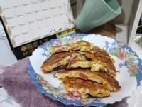 懶人料理之宵夜、早餐-熱狗玉米蛋