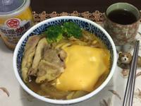 咖哩起司烏龍麵