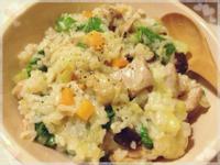 【妮小娜隨性煮】蔬菜雞肉燉飯(1~2人份)