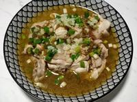 《電鍋料理》牛頭排紅蔥醬油蔥雞