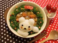 Kitty喵-聖誕快樂☆♪〜咖哩拉拉熊飯糰