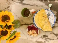 減醣料理:培根洋菇歐姆蛋捲