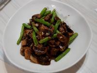 奶油洋菇四季豆