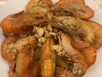 氣炸香蒜胡椒泰國蝦