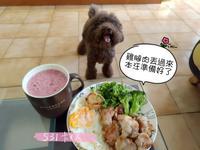 【假日不調味美味早午餐】雞腿蛋拼盤