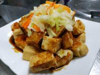 酥炸臭豆腐-台式泡菜