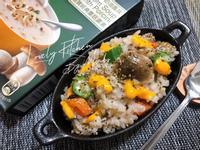 奶油風蕈菇燉飯