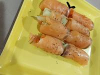 煙燻鮭魚捲青蔬