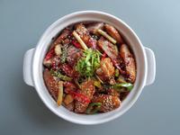 香辣芋頭乾鍋雞 (康寶自然鮮-嫩雞)