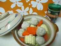 【康寶自然鮮】蘿蔔虱目魚丸玉米湯