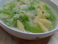 絲瓜炒玉米筍