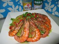 咖哩鮮蝦粉絲煲<牛頭牌咖哩炒醬/高湯>