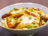 酸辣大白菜(素食料理,下飯經典)