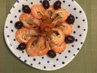 紅棗枸杞蝦冷盤