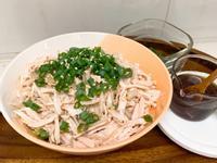 涼拌雞絲金針菇