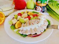 優格雞肉蔬果沙拉