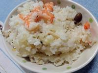 【西式燉飯】白醬鮮蝦菇菇燉飯