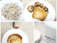 健康油醋旗魚排+自製鮮奶茶+外宿向煮水餃