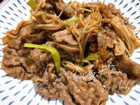 沙茶金針牛肉片