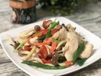 鴻喜菇雞肉片