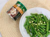 橄欖油蒜炒長豆