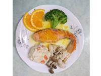 鮭魚佐香吉