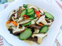 香菇炒時蔬