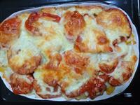 【烤箱料理】焗烤番茄薯泥