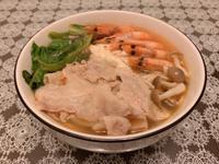 鮮蝦泡菜豬肉鍋