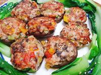 大鮮菇鑲煎雞腿肉