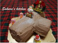 ♥我的金采耶誕♥木薪年輪蛋糕